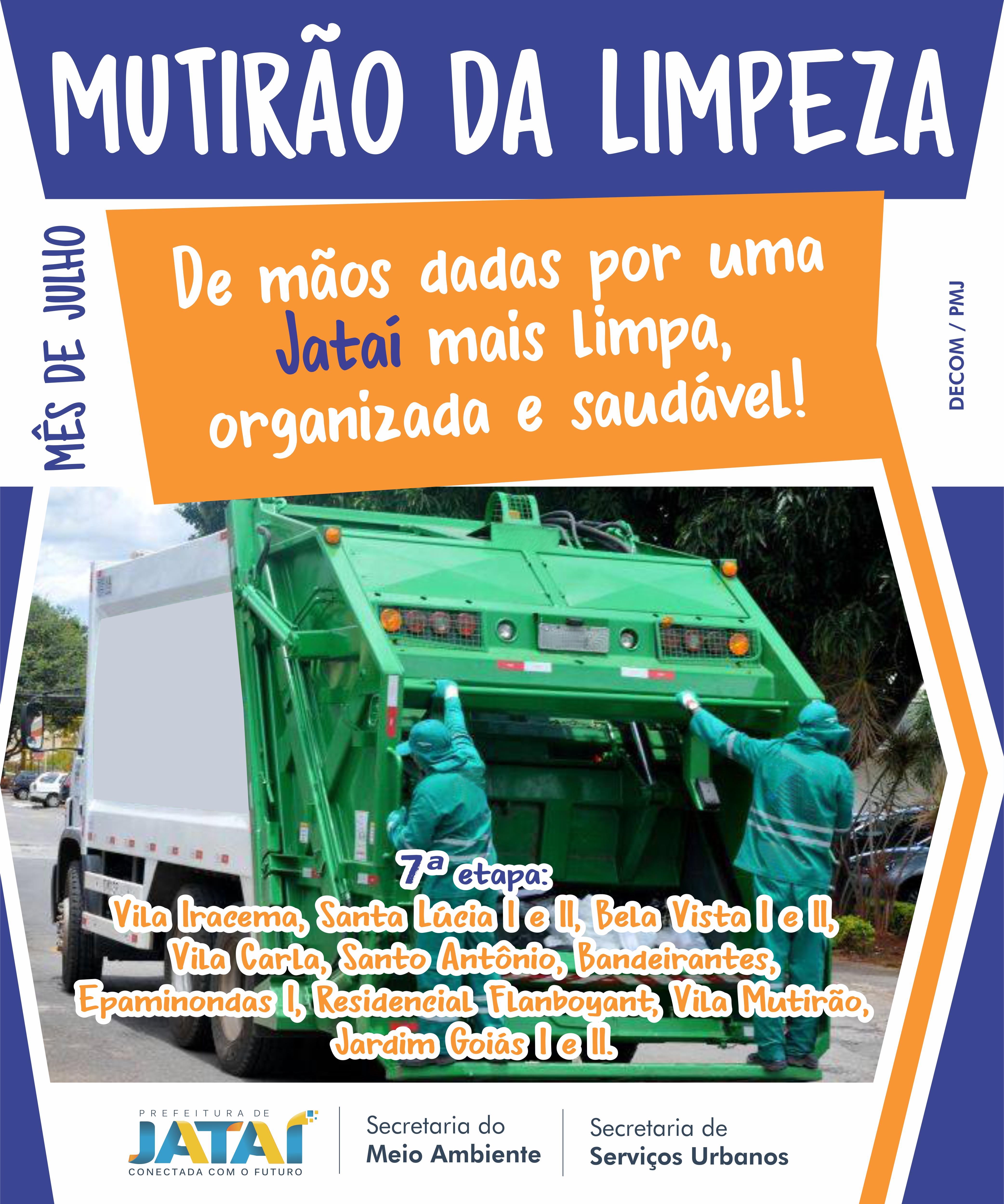 771bf906d4705 Equipe da Secretaria de Meio Ambiente e Urbanismo inicia a 7ª etapa ...