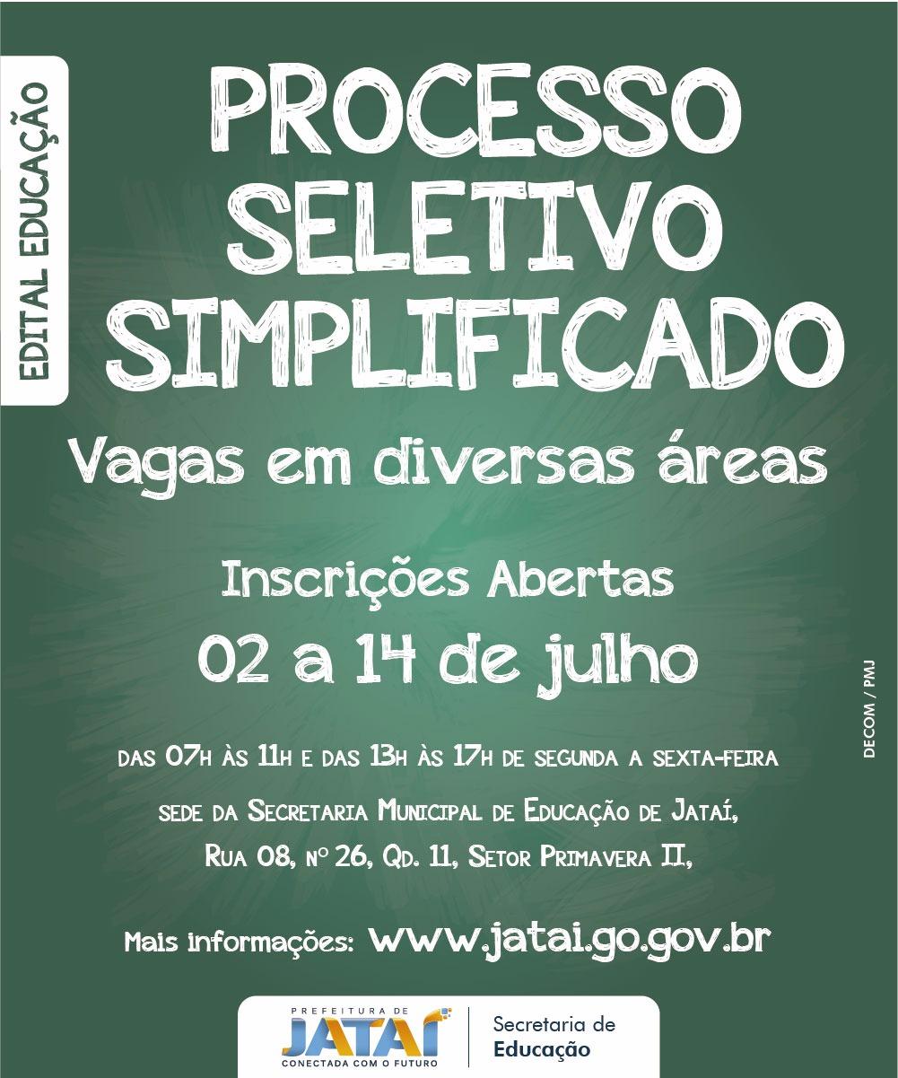 Errata  Processo Seletivo Simplificado – Secretaria de Educação ... 234debca26ba1