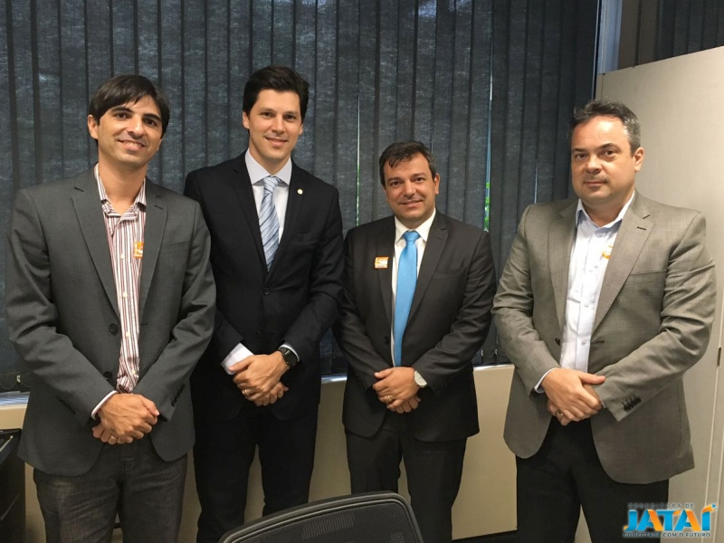 48302ac132 Vinícius Luz encerra semana de reuniões em Brasília e Goiânia ...