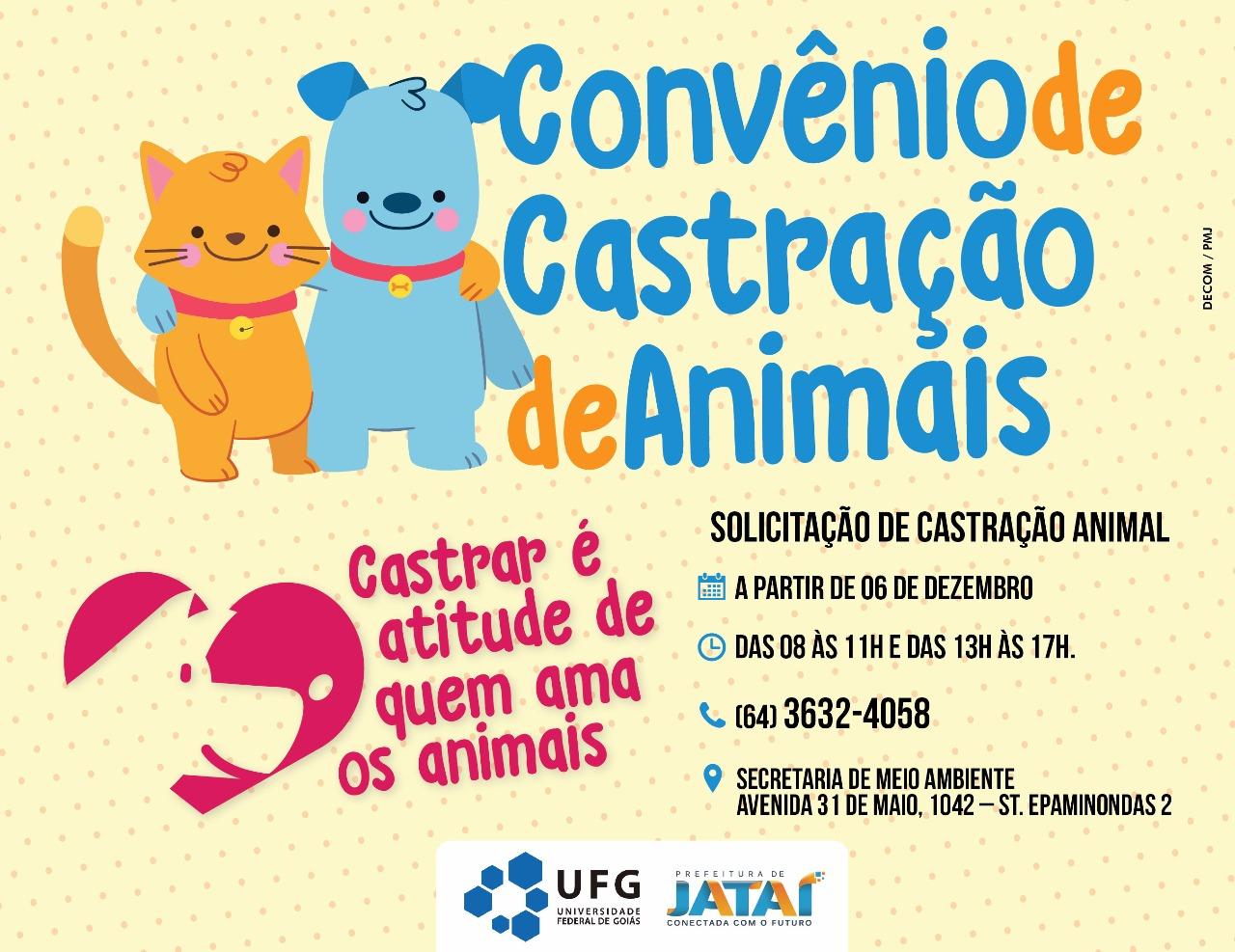 Convênio de Castração de Animais entre a Prefeitura Municipal de ... d4b98273fc