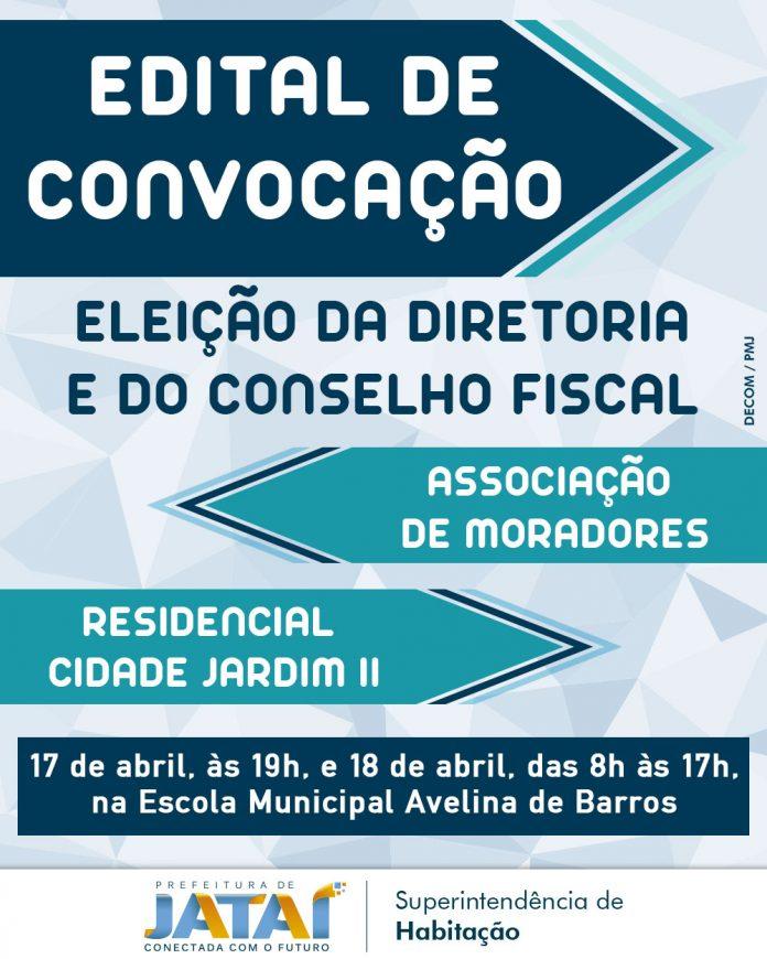 Edital de convocação para eleição da diretoria e do conselho fiscal ... 6d2f5a9cb4f70
