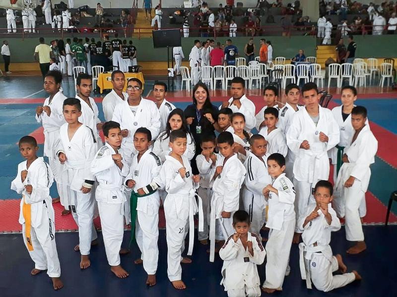 f307c07a7 Com apoio da prefeitura atletas participam da 1º etapa do campeonato ...