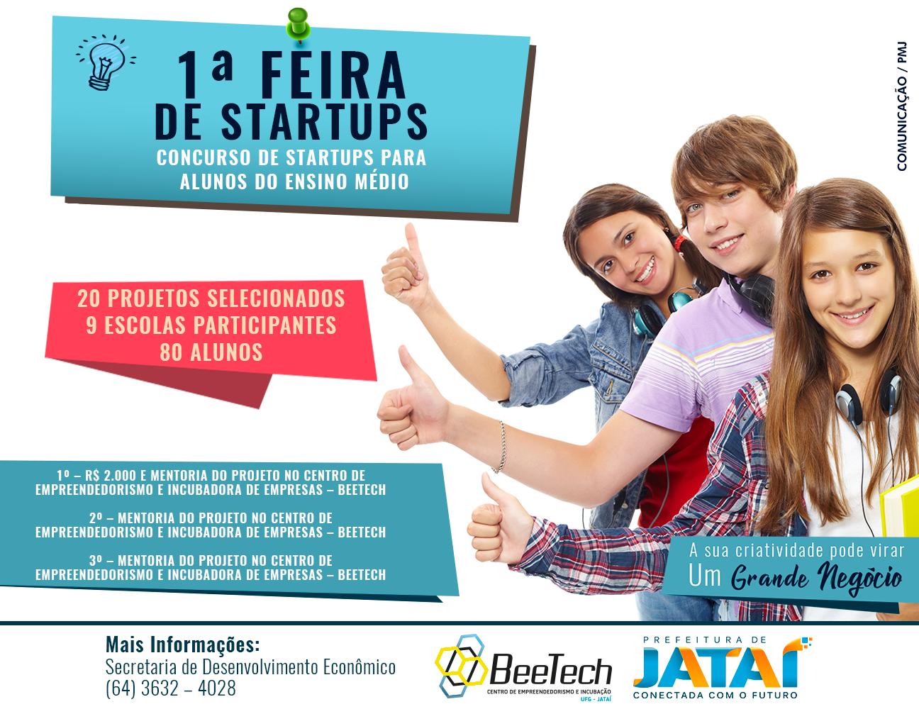 Feira de Startups seleciona projetos de alunos do ensino médio ... 120a42083f390