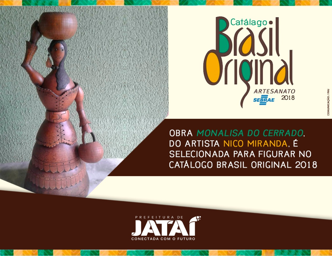 339f876f35c0c Obras do Artista Nico Miranda farão parte do Catálogo Brasil ...