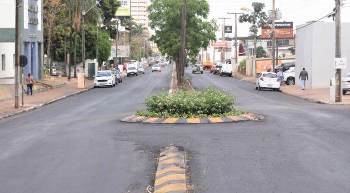 d5b5e684ef Obras de revitalização das Avenidas Goiás e Veriano Lima seguem em andamento