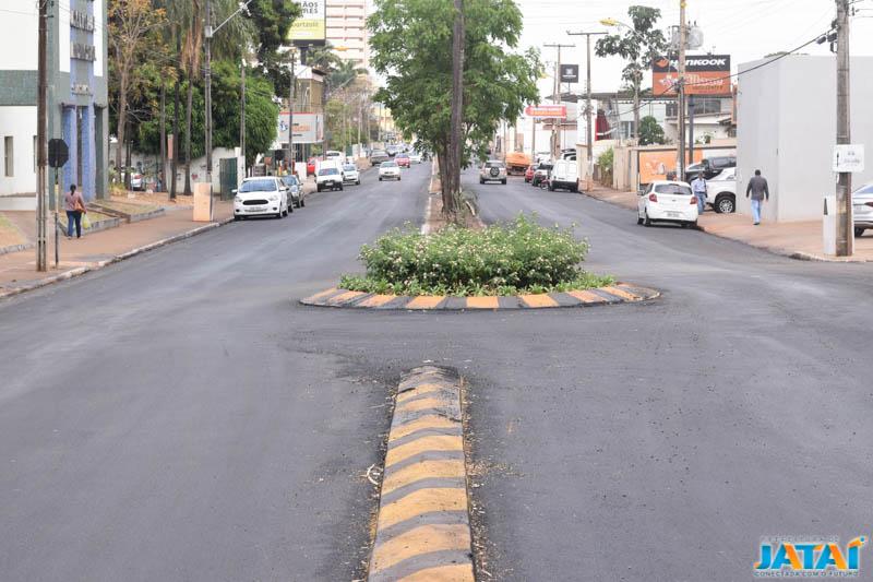 24744406c74be Obras de revitalização das Avenidas Goiás e Veriano Lima seguem em ...