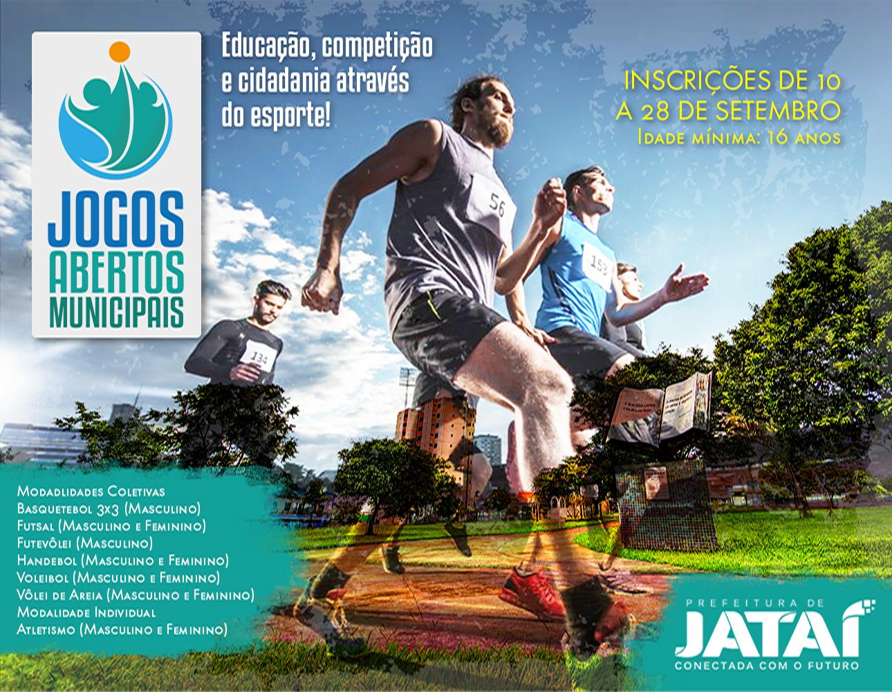 9e5c6ec3565a1 Inscrições para os Jogos Abertos Municipais terão início na próxima ...