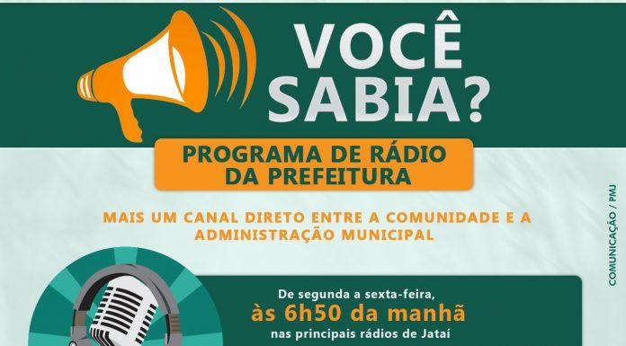 016b8a2d4 Programa de rádio da Prefeitura é mais um canal direto entre a comunidade e  a administração municipal De segunda a sexta-feira, às 6h50 da manhã, ...