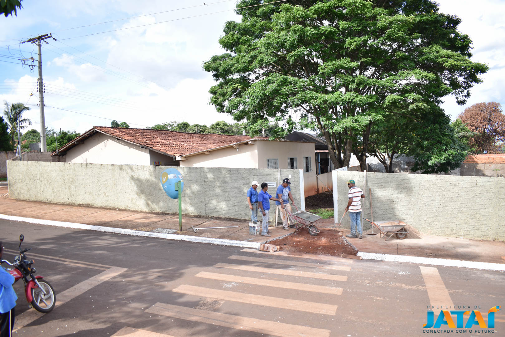 PREFEITURA EM AÇÃO   Prefeitura inicia obras do novo Centro de