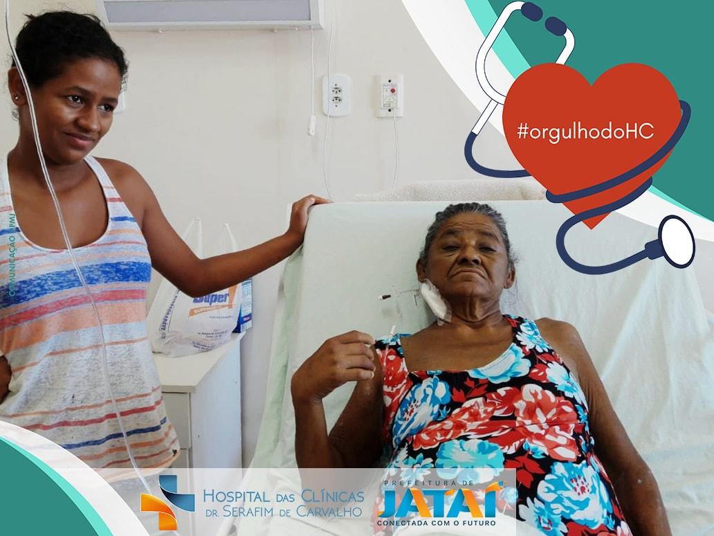 Na Sexta-Feira (04), se sentindo muito fraca, a aposentada Maria das Graças  Bento da Silva (66) se deslocou até o Hospital das Clínicas Dr. Serafim de  ... 5818f32d7e