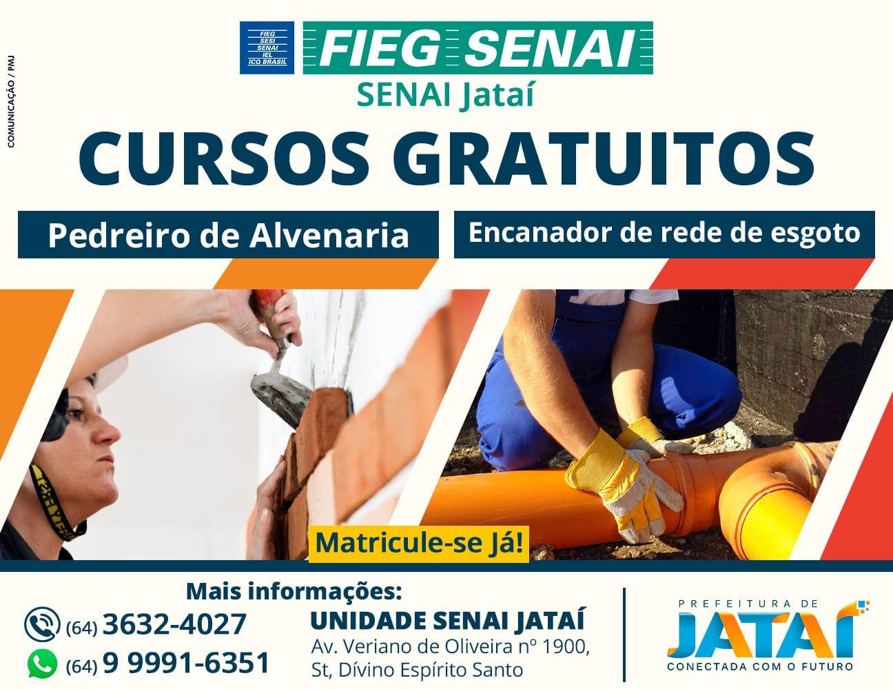 0cd5b3502f34 Inscrições abertas para cursos gratuitos pelo Senai em parceria com ...